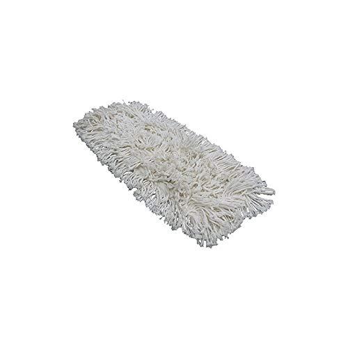 Apex Recharge pour Balai à Franges Coton Professionnel, Blanc, 80 cm