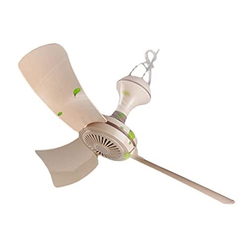HHOSBFSS Ventilador De Techo Pequeño USB, 3 Cuchillas, Mini Mini Pequeño Mini Pequeño Viento Grande Ventilador Eléctrico 5V