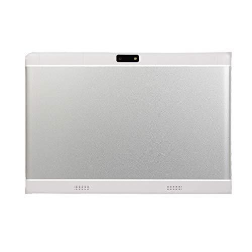 ACAMPTAR Tableta de 10.1 Pulgadas 1G 16G MTK6592 Quadcore 1280X800 WiFi + Soporte Tableta Android de Doble Tarjeta (Enchufe de la EU)