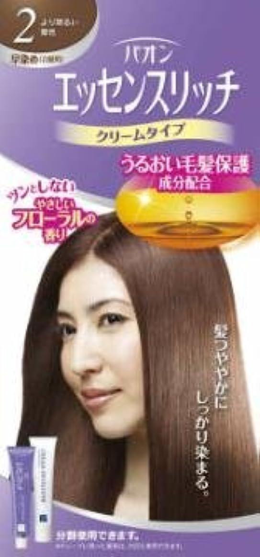 【シュワルツコフヘンケル】パオン エッセンスリッチ クリームタイプ 2 より明るい栗色 ×10個セット