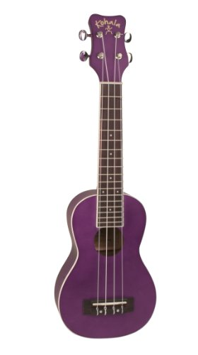 Kohala KR-SPP - Ukelele soprano (arce), color morado