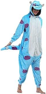 Pijama Sullivan Sulley Monstros SA Kigurumi Fantasia Macacão Unissex
