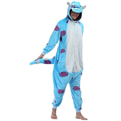 Pijama Sullivan Sulley Monstros SA Kigurumi Fantasia Macacão Unissex Tamanho: G 1,67-1,78