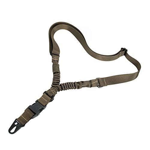 OLEADER 1 Punkt Schlinge Taktische Airsoft Sling für Jagd Schießen Quick Adjust Tan