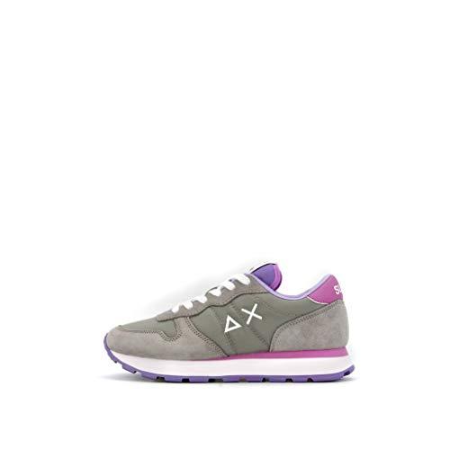sneakers donna sun68 Sun 68 Sneakers Donna Modello Ally Solid Colore Grigio Medio (Numeric_39)