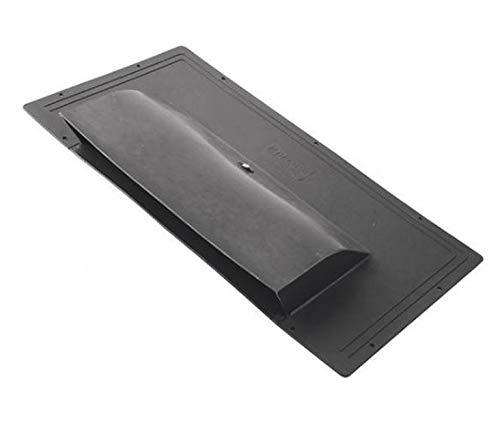 Dakventilatie - ZWART vlakke dakventilator ontluchting dakventilator vlakke dakventilator dakkap, dakdoorvoer, rookafvoer ontluchtingssteen dakontluchter ontluchter afvoerlucht, dakkoep,