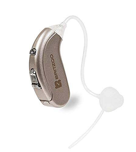 Britzgo 702 Hearing Amplifier For Adults To Aid In Hearing Recreation. BTE. Noise Cancelling Personal Sound Amplifier (PSAP). Good For Right Or Left Ears