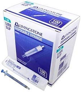 LIV SYRINGE 1ML LUER SLIP TIP TUBERCULIN HYPO STERILE 100/BX
