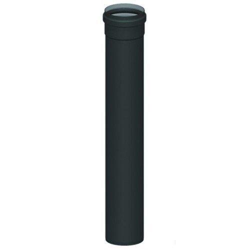 1m Rauchrohr D. 80mm Pelletrohr Pelletofen Rohr Ofenrohr Pellet