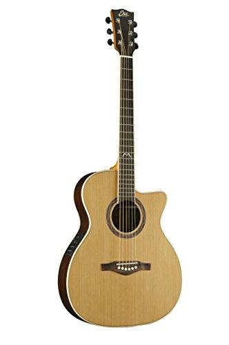 EKO Gitaren 06217070 MIA Serie Auditorium Akoestisch-elektrische gitaar Auditorium Cutaway Akoestisch Elektrische oven Full Size