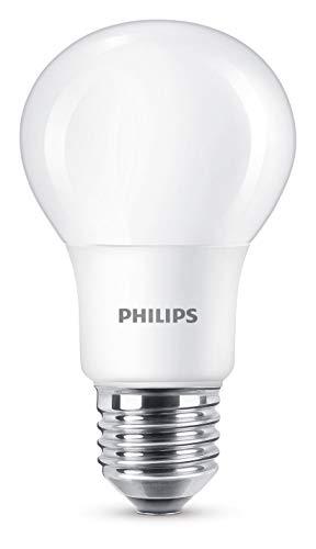 Philips LED WarmGlow Lampe ersetzt 40W, E27, warmweiß (2200-2700Kelvin), 470 Lumen, dimmbar
