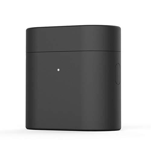NOKOER Funda para Xiaomi AirDots Pro 2, Ultradelgado Silicona Case Cover, Anti-caída, Xiaomi AirDots Pro 2 Funda - Negro