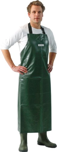 Oceanrainwear Gummischürze aus PVC olivgrün, ca 120 x 90 cm