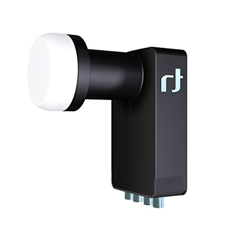 Inverto Black Ultra Quad LNB, HGLN, 40 mm, Schwarz