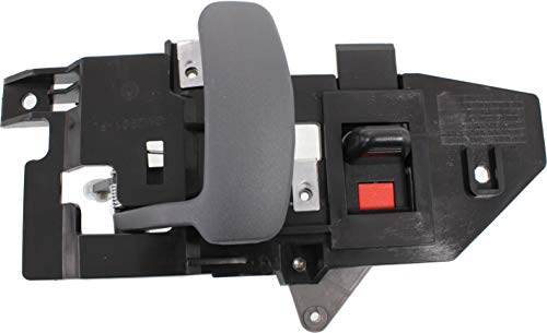 Interior Door Handle compatible with EXPRESS/SAVANA VAN 96-15 Front LH Inside Gray (Zinc)
