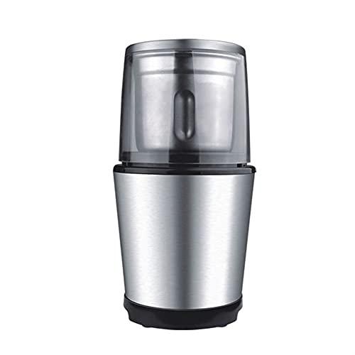 SHUBIAO-xiaoji Elektryczny ekspres do kawy, mała mała mała mini ze stali nierdzewnej, przenośna automatyczna młynek do kawy z regulowaną grubością, do podróży, na zewnątrz, domu i biura