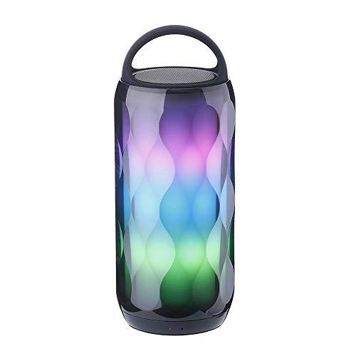 XZJJZ LED-bewegliche Bluetooth Lautsprecher Noten-Nachtlicht 6 Farben, die...