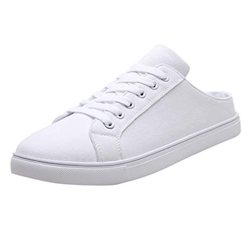 Learn More About VonVonCo Shoes for Crews Mens Fashionable Casual Lace Up Breathable Canvas Color Sh...