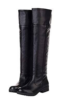 Adult Men's Cos-play Knee-high Boot Riding Boots (11) from