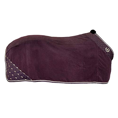 Back on Track® Nights Collection Fleecedecke Abschwitzdecke Ruby (145 cm)