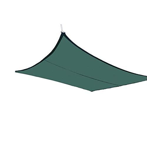 Toldo Vela de Sombra Toldo de Vela 100% HDPE rectángulo sombra del pabellón Arena bloque del color de UV, Sun Velas de la cortina, for la cubierta, patio, porche, patio trasero al aire libre, 4x3m
