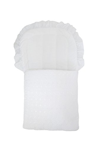 Cuddles Collection BA Baby Nest (White)