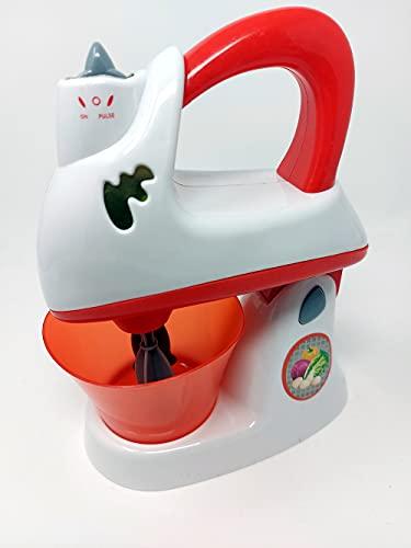 Robot de cocina batidora con luz y sonido, accesorios de cocina para niños