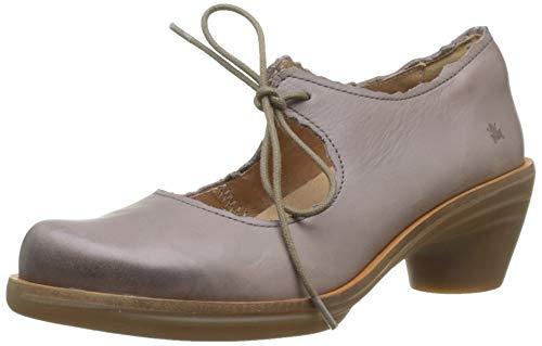 El Naturalista N5354, Zapatos de tacón con Punta Cerrada Mujer, Gris (Plume 000), 38 EU
