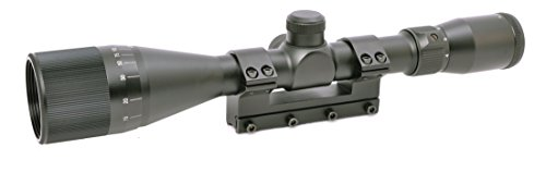 Hammers 4-12X40AO Air Gun Rifle Scope for High Power Magnum Spring .177 .22 Air Gun Rifle with 40mm Parallax Adjustable Objective Solid One Piece Mount Built-in Stop Pin