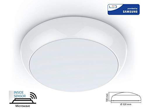 Led-buitenverlichting Samsung CHIP met sensor 1xLED/15W/230V IP65
