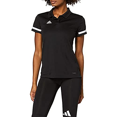 adidas Team19 Polo W Polo, Mujer, Black/White, XS