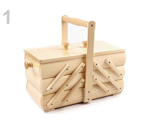 Great Features Of 1pc Lightbeige Sewing Basket/Storage Basket Small, Baskets and Boxes, Needlework &...