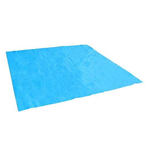 Linxor France ® Tapis de sol et de protection bleu pour piscine - 5 tailles disponibles - Norme CE