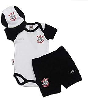 Kit Conjunto Corinthians Body Shorts e Boné Oficial