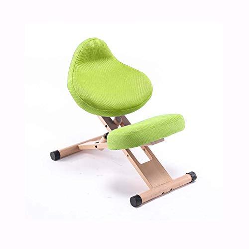 YUTRD ZCJUX Moda Semplice Versione aggiornata Moderno ed ergonomico Legno Solido Senza correzione bracciolo Postura Seduta Sedia Sedia ergonomica (Color : A)