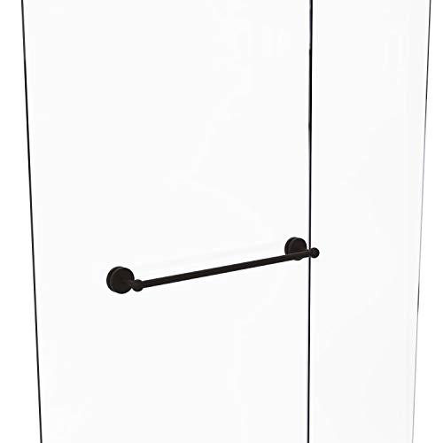 Allied Brass P1000-41-SM-24 Prestige Skyline Collection 24 Inch Shower Door Towel Bar, Oil Rubbed Bronze