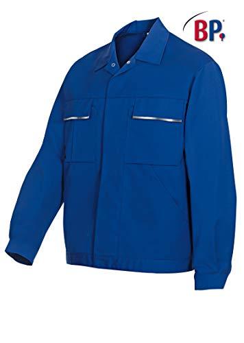 BP 1602-559-13-60/62n Arbeitsjacke, Verdecktes Druckknopfband und Taschen, 245,00 g/m² Stoffmischung, Königsblau ,60/62n