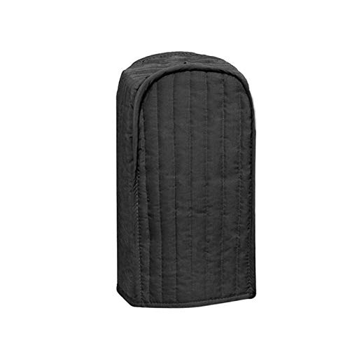 Polyester/Cotton Quilted Stand Mixer or Coffee Maker Appliance Cover, Dust and Fingerprint Protection, protecting your Blender,Machine Washable, Kitchen tool,Black