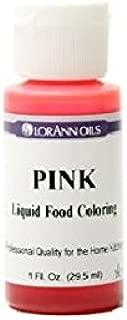 Lorann Oils Liquid Food Color, 1-Ounce, Pink