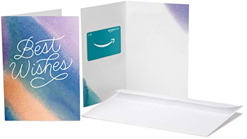 Amazon.co.uk Gift Card - In a Greeting Card - £10 (Best Wishes)