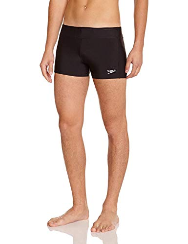 Speedo Essential Houston Boxer Homme, Noir, FR:40