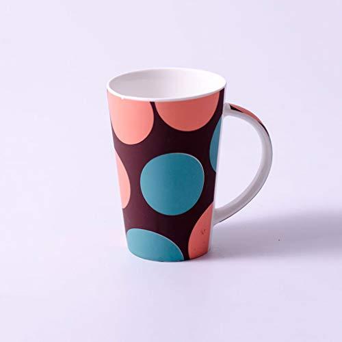 Shui Aa Zahnbürste Tasse Einfache Milch Kaffeetasse Keramikbecher Pinsel Zahnwäsche Haushalt Frühstück Tasse Matte Peeling Büro Teetasse (größe : H)