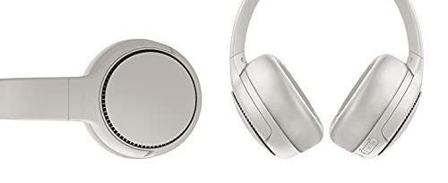 Panasonic RB-M500BE-C Bluetooth Over-Ear Kopfhörer (Sprachsteuerung, Bass Reactor, 1,2 m Kabel, bis 30 h Akkulaufzeit) weiß