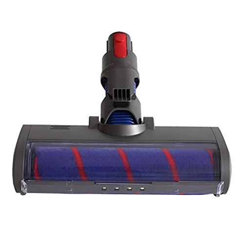 Piezas de repuesto de la aspiradora Pincel de piso eléctrico esponjoso Ajuste para Dyson V7 V8 V10 V11 Piezas de aspiradora Cepillo de rodillo Limpieza de suministros para el hogar Accesorios de aspir