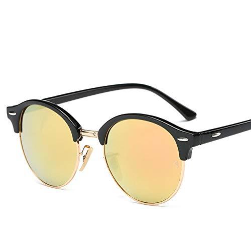 SUNMM 2020 Gafas de sol de verano para mujer, estilo de verano, gafas de sol de tendencia para dar regalos de novio, C5Amarillo.