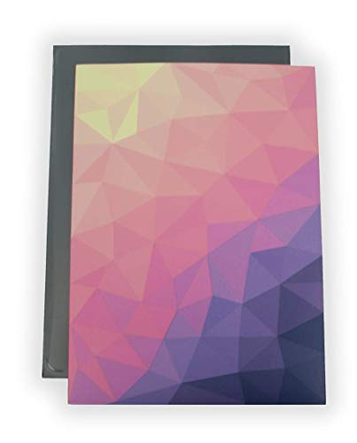 Vigilant Card Sleeves & Deck Protectors, 100 Count, Standard Size, Matte Finish, Designer Art Print (Dusk)