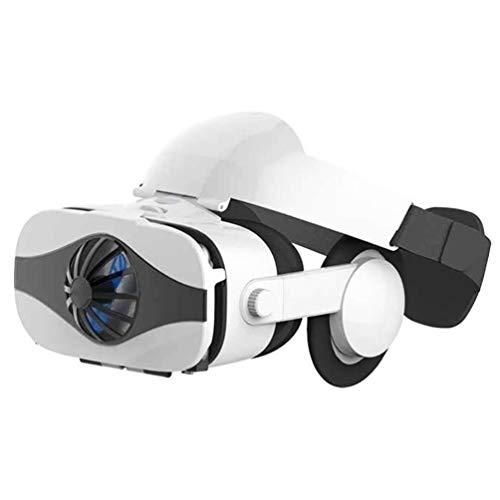 Auriculares VR Gafas VR Auriculares Con Realidad Virtual Gafas Lente HD, Para Videojuegos De Películas 3D VR Para Iphone 12/11 / X / 8/7/6 Samsung S10 / S9 / Note10 / 9 Teléfonos Android, 4.7-6.8In