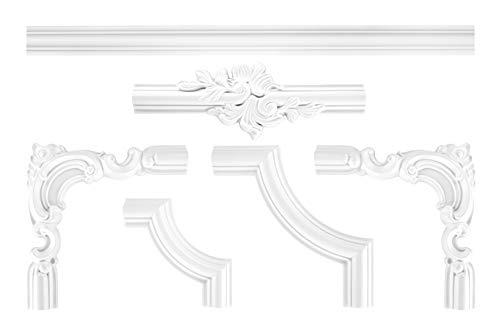 Wand und Deckenumrandung | Segment | Stuck | Fries | PU | stoßfest | Perfect | CR810C