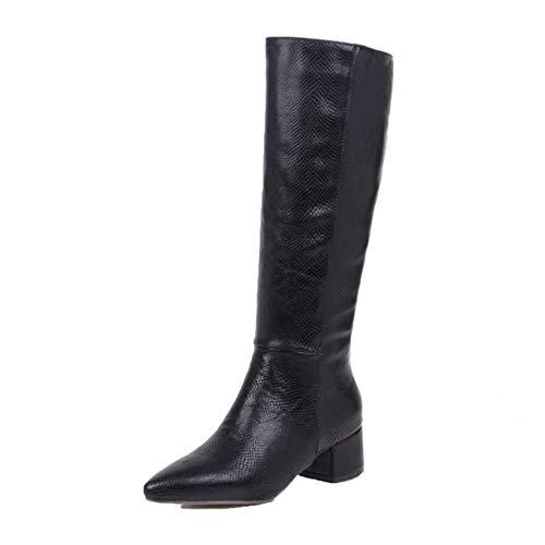 Women Knee High Boots Soft Waterproof...