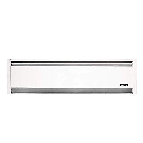"Cadet SoftHeat 35"" Electric Hydronic Baseboard Heater (Model: EBHN500-1W), 120V, 500W, White"